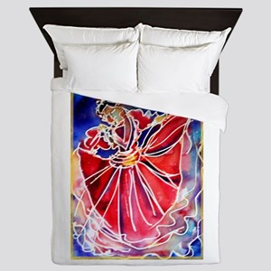 Fiesta, Mexican dancer, Queen Duvet