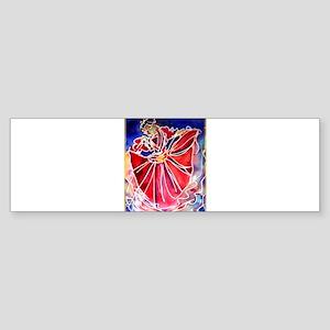 Fiesta, Mexican dancer, Sticker (Bumper)