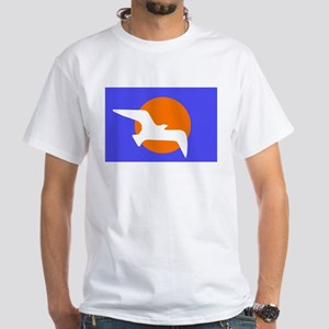 Secede Now White T-Shirt