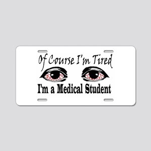 Medical Student Aluminum License Plate