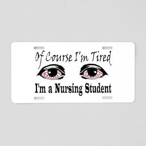Nursing Student Aluminum License Plate