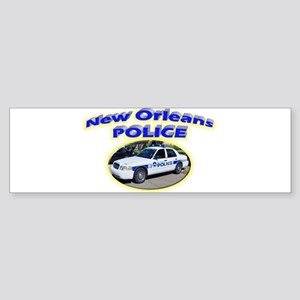 New Orleans Police Department Sticker (Bumper)