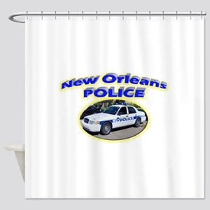 New Orleans Police Department Shower Curtain