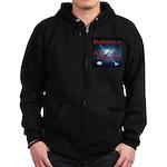 R.A.D Logo Collection Zip Hoodie (dark)