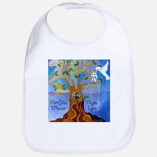 Tree of Life Design Bib