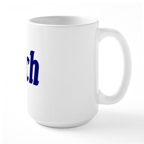 "Jewish ""Mensch"" Large Mug"