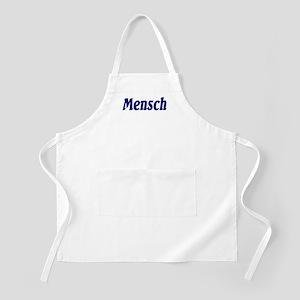 """Jewish """"Mensch"""" BBQ Apron"""