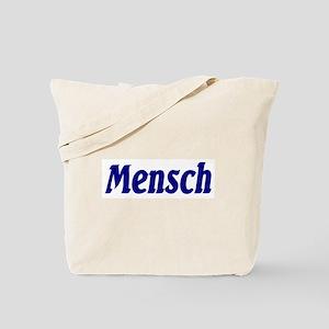 """Jewish """"Mensch"""" Tote Bag"""