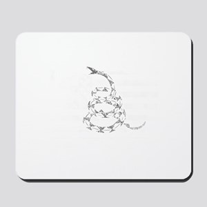 My Rights Don't End Mousepad
