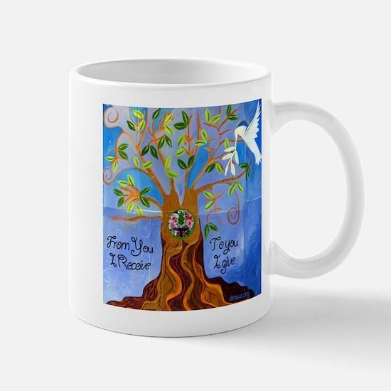 Tree of Life Design Mug