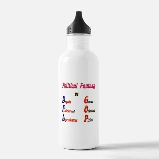 Political Fantasy Water Bottle