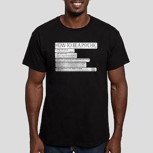 Skeptics7 Men's Fitted T-Shirt (dark)