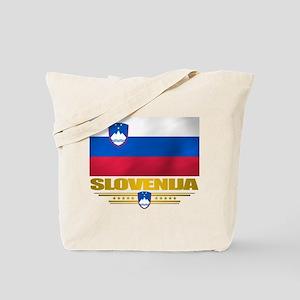 """Slovenia Flag"" Tote Bag"