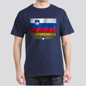 """Slovenia Flag"" Dark T-Shirt"
