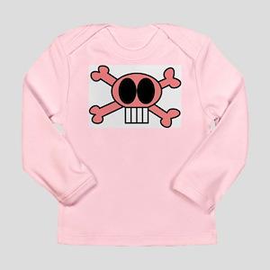 Skull and Crossbone Long Sleeve Infant T-Shirt B