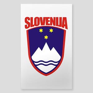 """Slovenia COA"" Sticker (Rectangle)"
