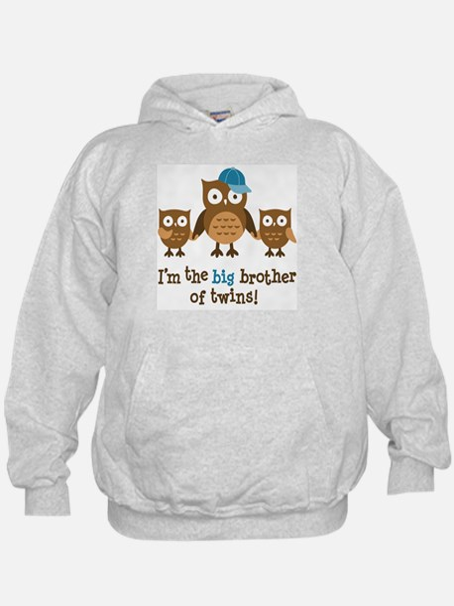 Big Brother of Twins - Mod Owl Hoodie