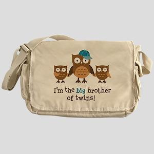 Big Brother of Twins - Mod Owl Messenger Bag