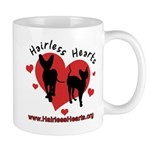 Hairless Hearts Mug