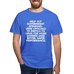 Help cut...Linux - Dark T-Shirt