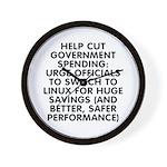 Help cut...Linux - Wall Clock