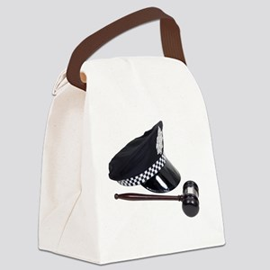 LawAndOrder100409 Canvas Lunch Bag