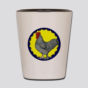 Maline Rooster Shot Glass