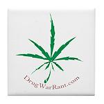 Marijuana Tile Coaster