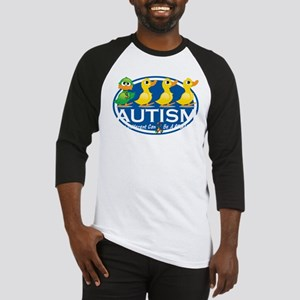 Autism-ugly-duckling-blk Baseball Jersey
