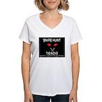 Snipe Hunt The Movie Women's V-Neck T-Shirt