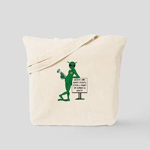 Stupid Humans Tote Bag