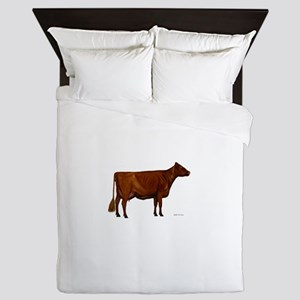 Shorthorn dairy cow Queen Duvet
