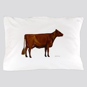 Shorthorn dairy cow Pillow Case
