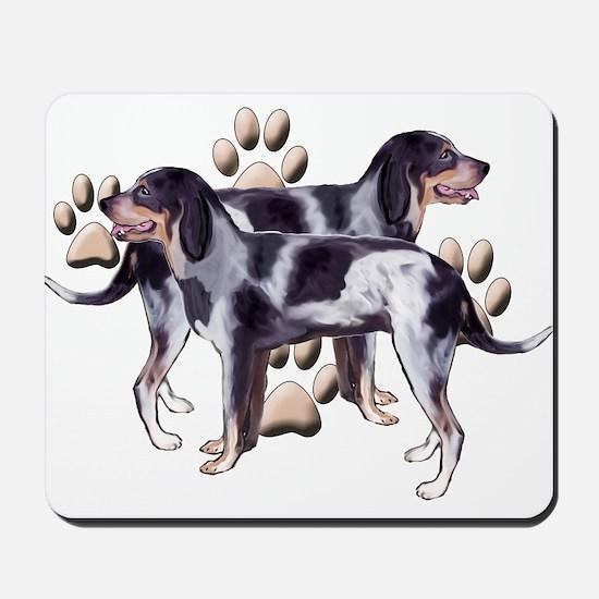 best friends coonhound Mousepad