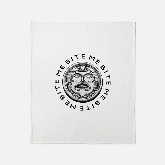 Mayan Bite Me Throw Blanket