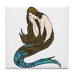 Abbott's Mermaid Tile Coaster