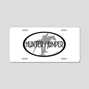 Hunter Jumper Aluminum License Plate