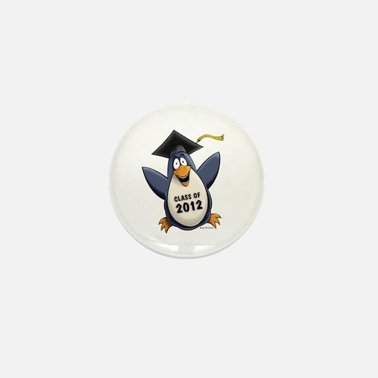 2012 Graduate Penguin Mini Button