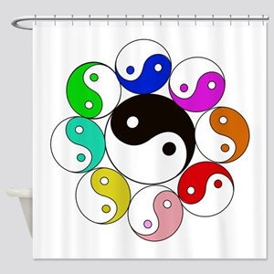 Find Your Yin.. or Yang! Shower Curtain