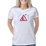Warning - Kiters present Women's Classic T-Shirt