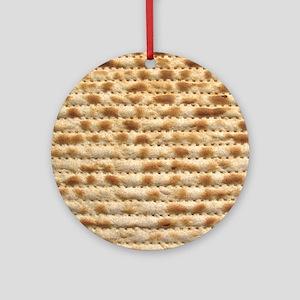 Matzah Ornament (Round)