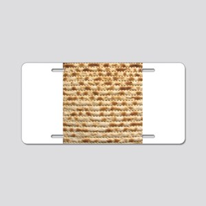 Matzah Aluminum License Plate