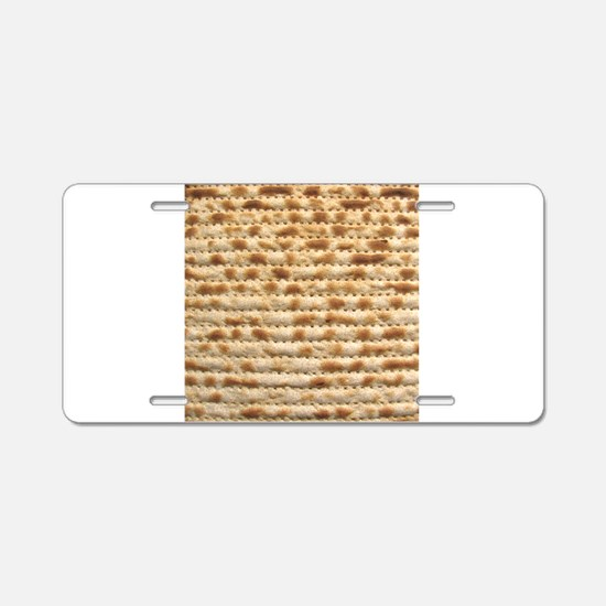 Matzah Aluminum License Plate