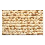 Matzah Sticker (Rectangle 10 pk)