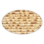 Matzah Sticker (Oval)