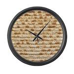 Matzah Large Wall Clock