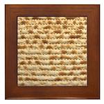 Matzah Framed Tile