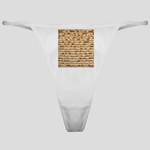 Matzah Classic Thong