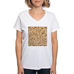 Matzah Women's V-Neck T-Shirt