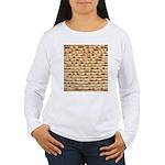 Matzah Women's Long Sleeve T-Shirt